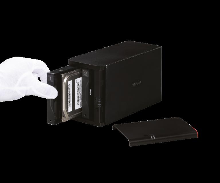 Buffalo LS420D NAS Descargar Controlador