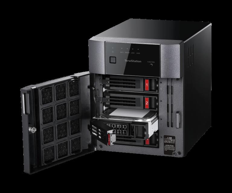 Buffalo TS3410DN0404-EU 4 TB TeraStation 3410DN 4 Bay Desktop NAS 4 x 1 TB NAS Hard Drives Included
